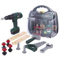 kit de ferramentas educacionais venda por atacado-12 Pcs Crianças Pretend Play Emulational Kit Ferramenta de Brinquedo Educacional Caixa de Ferramentas Educacionais de Desenvolvimento de Educação Brinquedos para Crianças Dos Miúdos