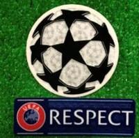 Wholesale champions league patches resale online - Champion League respect ucl Soccer patch badge