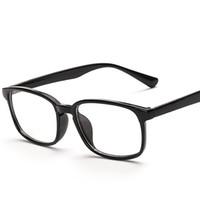 ingrosso black man nerd glasses-Vazrobe Occhiali da vista Uomo Donna Occhiali Cornice Uomo Donna Nerd Punti Occhiali da vista Nero Lenti trasparenti di alta qualità