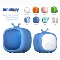 süßer lautsprecher tf großhandel-Smalody Bluetooth Mini-Lautsprecher Cute Pet Soundbox Unterstützt TF-Karte MP3 Musik Player Tragbarer Lautsprecher für Kinder Geschenk