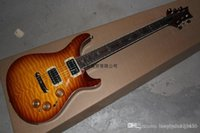 Wholesale best guitars online - Best Price New Arrival Bird Fretboard fret PRS Electric Guitar Gold Hardware In Stock