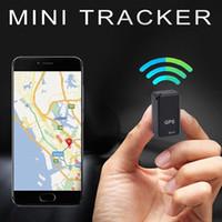 ingrosso dispositivi di monitoraggio portatili-Mini portatile GSM / GPRS Tracker GF07 Dispositivo di localizzazione satellitare Posizionamento contro il furto per auto Motociclo, Persona