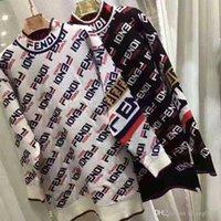 vestido de gasa f al por mayor-Calidad superior 2019 Nuevo estilo Mujeres Diseño F de gasa Vestidos casuales de manga larga Niñas FF Camiseta vestidos de suéter Envío libre de DHL