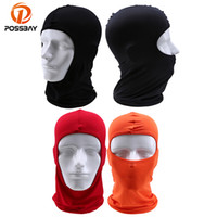 Wholesale woman cycling helmets for sale - Group buy POSSBAY Winter Oudoor Bicycle Full Face Mask Cycling Windproof Motorcycle Face Mask Hat Neck Helmet Cap Sports for Men Women