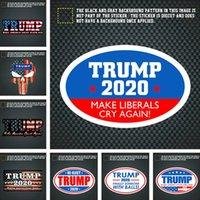 autocolantes adesivos adesivo de parede venda por atacado-Decalque adesivo TRUMP 2020 América Presidente Geral Car etiquetas da eleição Veículo Paster Trump decalque Decoração Wall Sticker acessório C71102