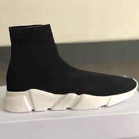 bayan rahat ayakkabılar toptan satış-KADıN yendi tasarımcı sneakers en maille streç hız eğitmeni siyah tan erkekler hız orta-üst eğitmen çorap sneakers casual shoes koşucular shoes
