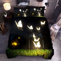 Wholesale king size bedding sets butterflies for sale - Group buy 3D bedding set Home Textiles Bedclothes Colorful butterfly Duvet Cover Set Quilt cover Pillowcase adult kids gift king size