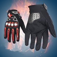 Wholesale bike cycle motors for sale - Group buy Bicycle Cycling Outdoor Sport Full Finger Gloves Motorcycle Gloves Mens Women Motor bike Non slip Lightweight Riding Gloves ZZA804