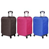 capas de maleta impermeáveis venda por atacado-Espessamento impermeável e resistente ao desgaste caso manga não-tecido Pull Rod Suitcase à prova de poeira capa protetora