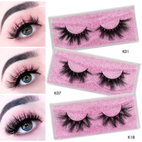 Wholesale box human for sale - Group buy Ups Free cruelty free d d d siberian mink fur eyelashes mm mm mm mm mm long mink eyelashes with storage lashes box