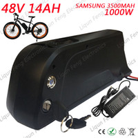 Wholesale battery chargers boards for sale - Group buy 48V AH Samsung Lithium Battery Electric Bicycle V W fun Bafang BBS02 BBSHD Motor Battery with BMS Board and A Charger