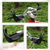 yumuşak sürüş bisikleti toptan satış-Yüksek Kaliteli Bisiklet Sapları Antiskid Bisiklet Kolu Yumuşak Kauçuk Bisiklet Kavrama Sürme Ekipmanları Aksesuarları Renk Mix Kolları