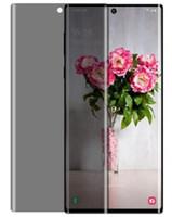 nota için ön cam toptan satış-Samsung Galaxy S10 Artı S10e S8 Artı S9 Artı / Galaxy Not 10 Artı Not 9 Gizlilik Temperli Cam Yansıma Önleyici Ön Filmi Ekran Koruyucu