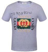 ingrosso magliette a marchio in vendita-2019 G Divertente vendita calda di marca T Shirt uomo Casual stampa con icona Hip Hop cotone manica corta firma graffiti g Tee shirt 5xl 6xl