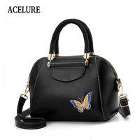 Wholesale butterfly print handbags for sale - Group buy Acelure Seashell Women s Handbag Embroidered Crossbody Bags For Women Butterfly Print Luxury Handbags Women Bags Designer Q190428