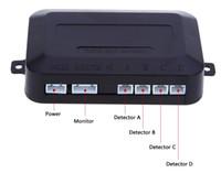 голос системы охранной сигнализации оптовых-6 Цветов 4 Датчик Парковки Авто Реверсивный Детектор с ЖК-Дисплеем Повышения Сигнализации Монитор Система Английский Голосовое Уведомление Бесплатная Доставка