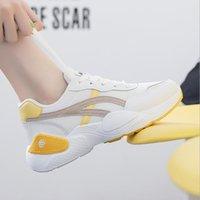 bayan rahat ayakkabılar toptan satış-Kadınlar Casual Sneaker Siyah Beyaz Bölünmüş All-maç Moda Bayan Açık Bez Ayakkabı Işık Tan Pembe Mesh Sneakers Ücretsiz Kargo Boyut 36-39