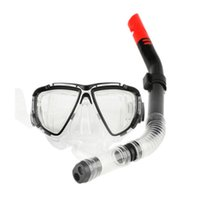 Wholesale frog suits for sale - Group buy Semi frame professional snorkeling three treasure suit swimming equipment frog mirror swimming goggles semi dry snorkel goggles