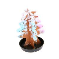 papel mágico al por mayor-1 Unidades Arbol de Navidad Arbre Mágico Grow Trees Magia Papel de cultivo Árbol de Navidad interactivo Juguete de regalo para niños Decoración navideña