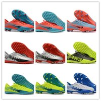 Wholesale rugby world cup resale online - HOT World Cup Top Quality Mercurial FG Soccer Shoes FG Football Boots Soccer Cleats Sneakers Designer Shoes