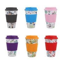 Wholesale foods fiber resale online - Eco friendly Bamboo fiber BPA Free Food Grade Coffee Mug For Outdoor Portable Water Cups Home Office Mugs