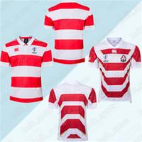 venda do japão venda por atacado-Japão Rugby Jerseys 2019 Copa do Mundo da equipe nacional de rugby jerseys Venda quente top quality men T shirt