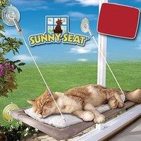 acessórios para camas de gato venda por atacado-Cat otário tipo hammock house Pet cama esteiras tipo otário fio de aço pendurar linha ninho de fossa Pet Products Accessories Supplies