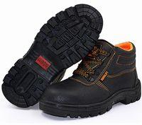 ingrosso scarpe di sicurezza impermeabili-Uomo traspirante Scarpe da lavoro all'aperto Scarpe da punta in acciaio Resistenti all'usura Resistente all'olio Uomo Stivaletti da trekking
