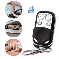 Wholesale wireless keychain remote control resale online - Universal Wireless Mhz Remote Control Copy Code Remote Channel Electric Cloning Gate Garage Door Auto Keychain