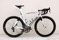 carbon road bikes verkauf großhandel-A12 Ridley Carbon Komplette Rennrad Lotto Soudal Team Vollcarbon Rennrad Fahrrad Mit 5800 Ultegra R8000 Groupset Zum Verkauf laufradsatz