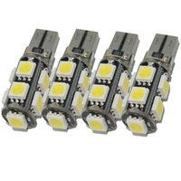 innenkuppel hellblaue glühbirnen großhandel-T10 9smd W5W 5050 Canbus Led Glühbirne für Auto Auto innenleuchte dome licht leselampe