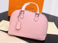 Wholesale bb reds resale online - desinge Luxury handbags purses Woman classic ALMA BB high quality crossbody messenger shoulder bag shell bags color sizes choice