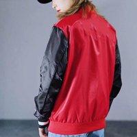 ingrosso inverno rosso ricco di cappotto-Giacche manica del progettista di disegno delle donne degli uomini del rivestimento del cappotto parka Inverno Autunno all'aperto di lusso Riscaldamento Red Jacket Nero Color Design Lungo