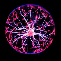 Magic Plasma Ball Night Light Kid Room Party Decoration Electrostatic Sphere Light Gift Lightning Crystal Touch Control Lamp