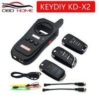 herramientas clave coche vw al por mayor-OBD2 Key Programmer tool KEYDIY KD-X2 Control remoto para puerta de garaje Kd x2 Generador / Lector de chips / Probador de frecuencia / Tarjeta de acceso Copiadora
