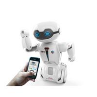 robô controlado venda por atacado-Silverlit programável Balance Training Versátil Robot Macrobot com a capacidade de detecção de objeto interativo LA121 Crianças brinquedo de controle remoto