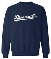 Wholesale hiphop resale online - Hiphop Harajuku Hoodies Men O neck Dreamwille Letters Designer Sweatshirts Tops Spring Pullovers