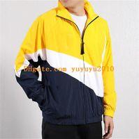 Wholesale chain pattern for men resale online - mens designer jackets fashion mens brand designer jackets hot sale top quality coats hoodies jackets for men man lxmw101