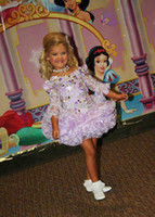 11 yaş için cupcake pageant elbiseleri toptan satış-Eden Ahşap Lavanta kızın Pageant elbise Vintage Parti Cupcake Abiye Çiçek Kız Pretty Elbise
