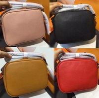 Wholesale women messenger bags online - Women s leather SOHO bag disco designer shoulder bag famous fashion Messenger bag new