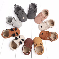 Wholesale baby boy moccasins shoes online - Cute Baby Shoes For Girls Soft Moccasins Shoe Spring Cat Baby Girl Sneakers Toddler Boy Newborn Shoes First Walker