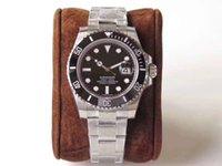 lunette achat en gros de-Mens montres de luxe montre 2813 mouvement lunette en céramique de mouvement automatique de montre-bracelet 30meter imperméable à l'eau de mode montres 116610 40mm