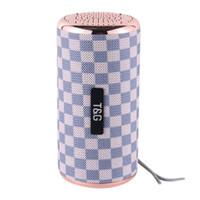 ingrosso acqua della lampada di musica-Altoparlante stereo Bluetooth 4.2 Altoparlante Super Bass Colonna 10W Altoparlante portatile esterno con funzione di riproduzione della scheda SD