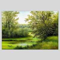 Wholesale oil paintings for sale - Group buy Hua Tuo Landscape Style Oil Painting x CM HT
