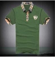 ingrosso prodotti a marchio-Home Abbigliamento Abbigliamento uomo T-shirt uomo Polo T-shirt da uomo Dettagli sul prodotto Summer Designer Luxury Magliette per uomo Top Brand Shark
