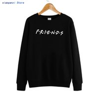 f5bd8268f FRIENDS Letter Women Sweatshirts Casual Funny Harajuku Hoodies For Lady Girl  Female Pullovers Hipster Ladies Clothes euu8205