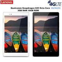 Wholesale lenovo tablet online - Lenovo P8 Tab3 Plus G Tablet PC Android Inch Snapdragon Octa Core GHz GB RAM GB ROM Dual Camera Bluetooth
