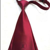 ingrosso abito avvocato-avvocato cravatta legami vestito profeesional per uomini e donne assessories poliestere poliestere jacquard legami abito cravatta di corte