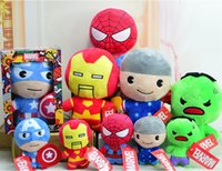 Wholesale marvel comics toys for sale - Avengers Endgame Stuffed Doll Come With Box Packaging CM High Quality The Avengers Doll Marvel Plush Toys Best Gifts For Kids Toys