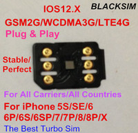 Wholesale gevey card for ios online - Free DHL Brand New BLACKSIM Super sim G Unlock IOS for US T mobile Sprint Fido DoCoMo other carrieres GEVEY Turbo Sim